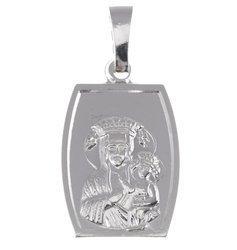 M47 Medalik srebrny - Matka Boska Częstochowska