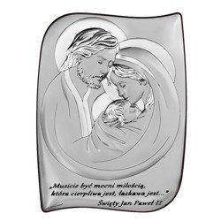 Obrazek Srebrny Święta Rodzina 6466S