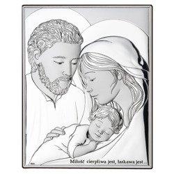 Obrazek Srebrny Święta Rodzina DS25
