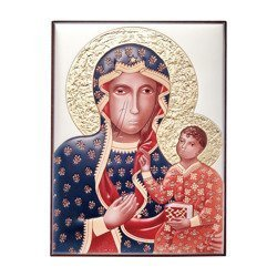 Obrazek srebrny Matka Boska Częstochowska 306102CER