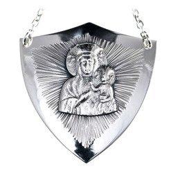 Ryngraf srebrny 925 Matka Boska Częstochowska R18