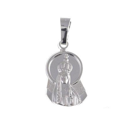 M85 Medalik srebrny - Matka Boska Fatimska