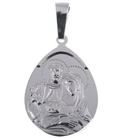 M93 Medalik srebrny - Święta Rodzina