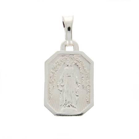 Medalik srebrny - Matka Boża Niepokalana Cudowny medalik MM032