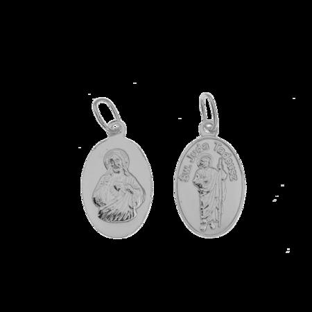 Medalik srebrny - Święty Juda Tadeusz ML007