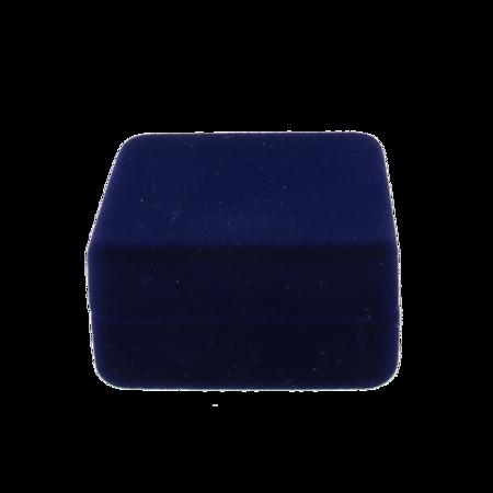Pudełko flokowane niebieskie P7 FLOK SM