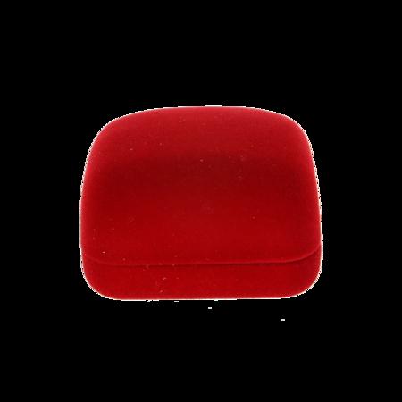 Pudełko flokowe czerwone  PUD-1 C