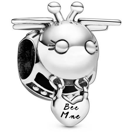 Srebrna przywieszka pr 925 Charms pszczółka PAN008
